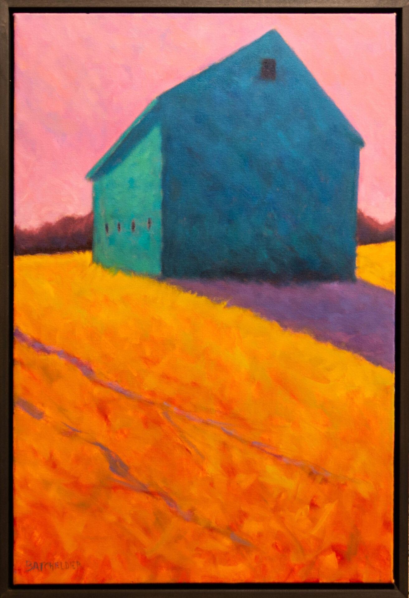 "Rose Sky | Peter Batchelder | 30 x 20"" | Oil"