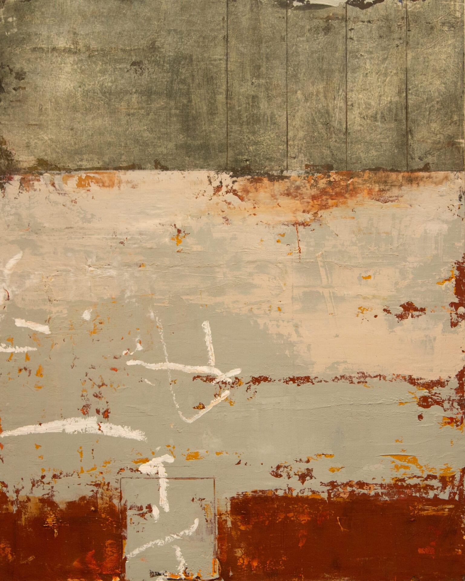 "Quei Momenti | Allison B. Cooke | 20 x 16"" | Oil/Cold Wax on Panel"