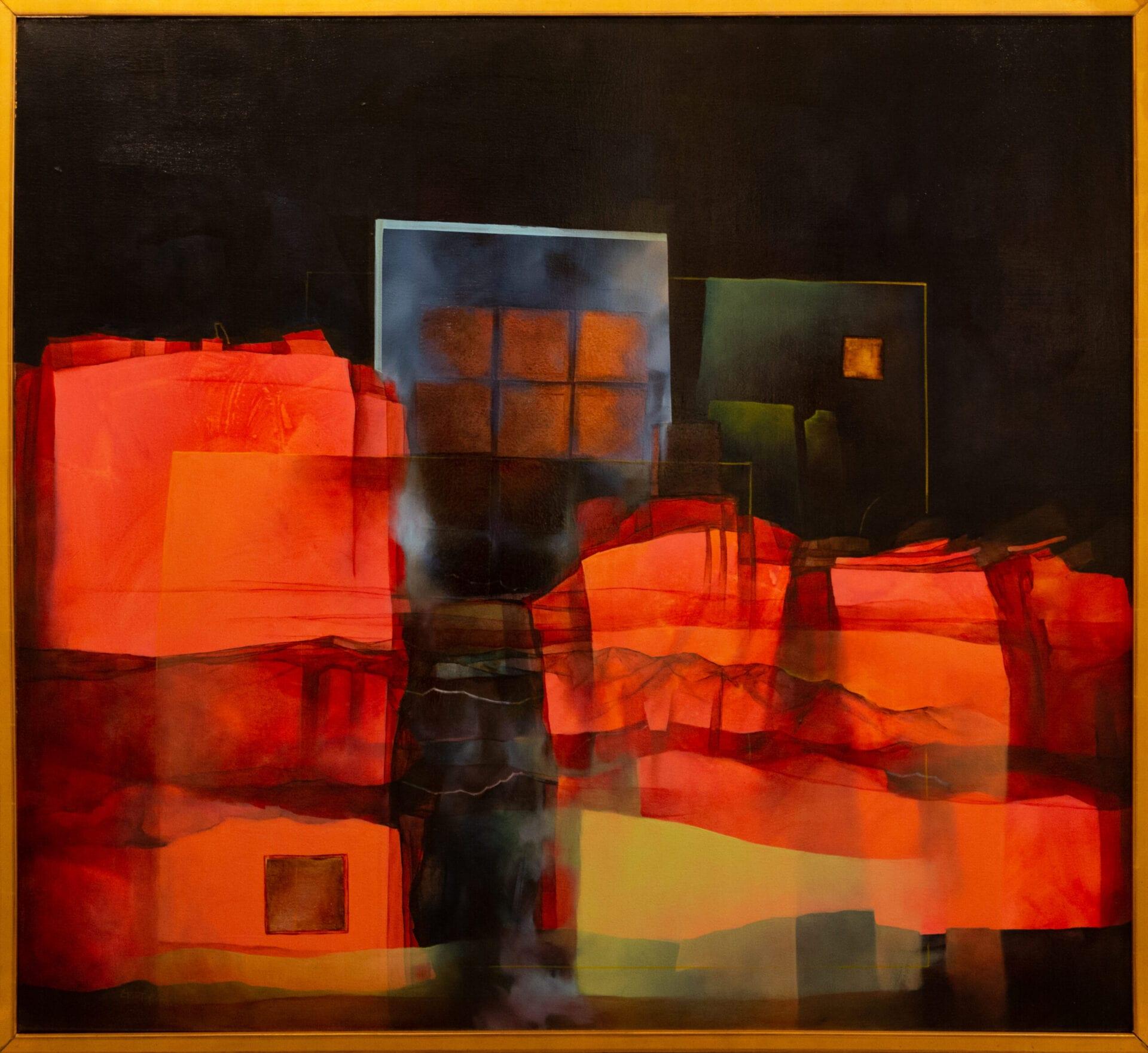 "Beyond the Rectangle | Guido Garaycochea | 40 x 44"" | Oil"