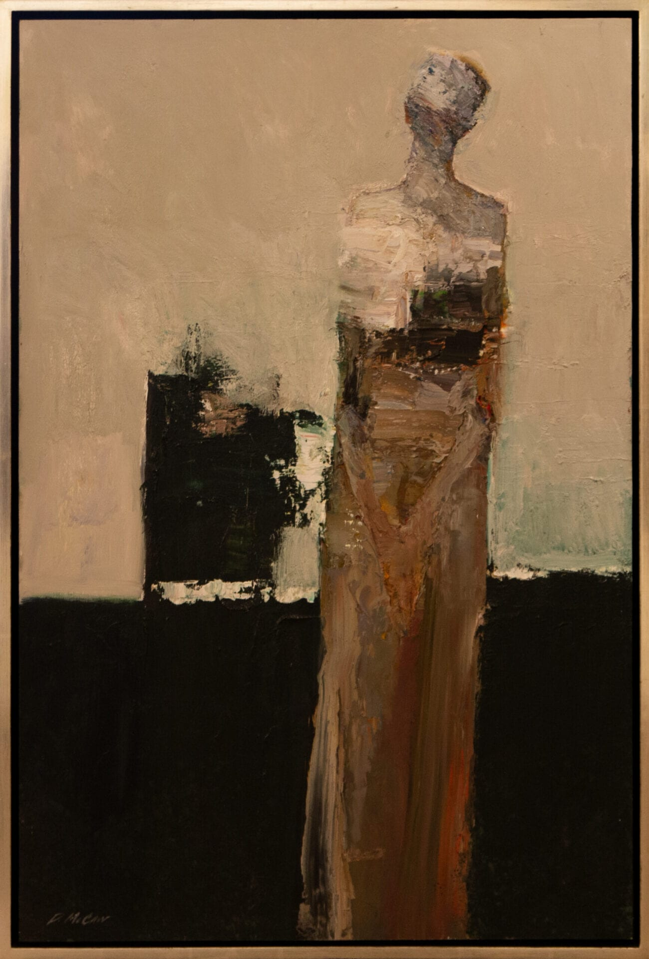 "Dan McCaw | Solitude | 36 x 24"" | Oil"