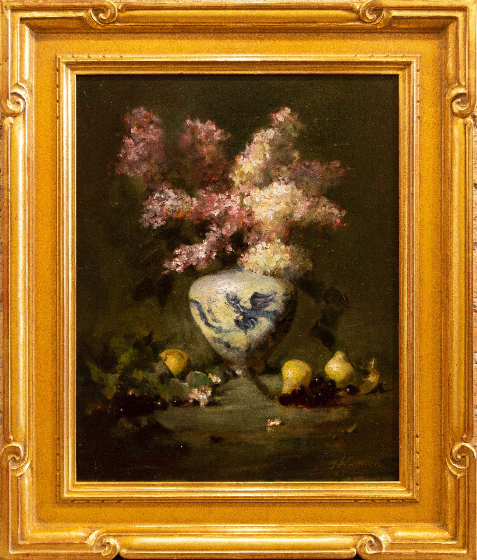 """Lilacs with Pears 