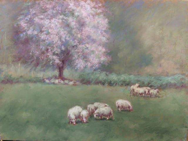Joann Ballinger - Spring Lambs