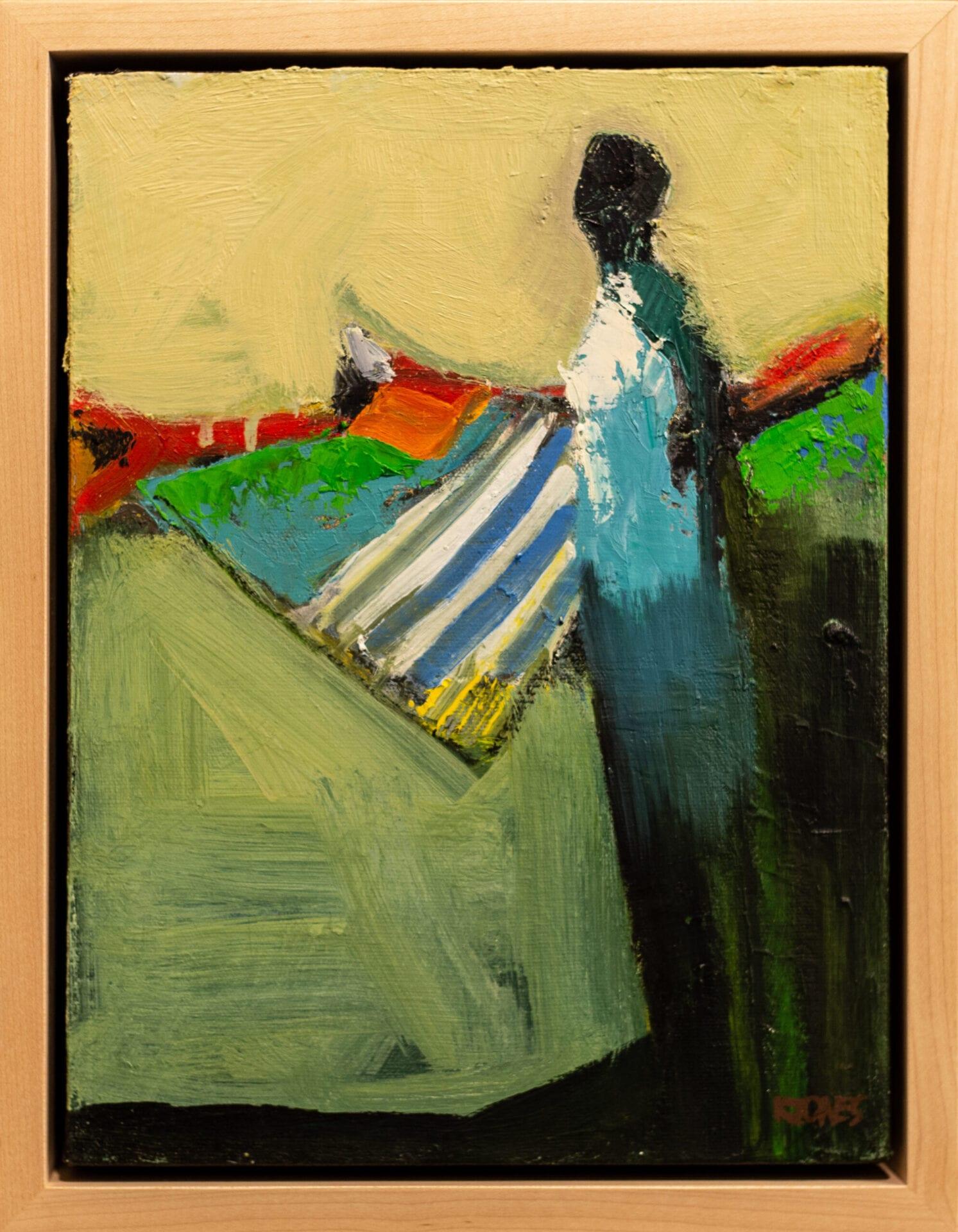 "Looking Back | Kathy Jones | 12 x 9"" | Oil"