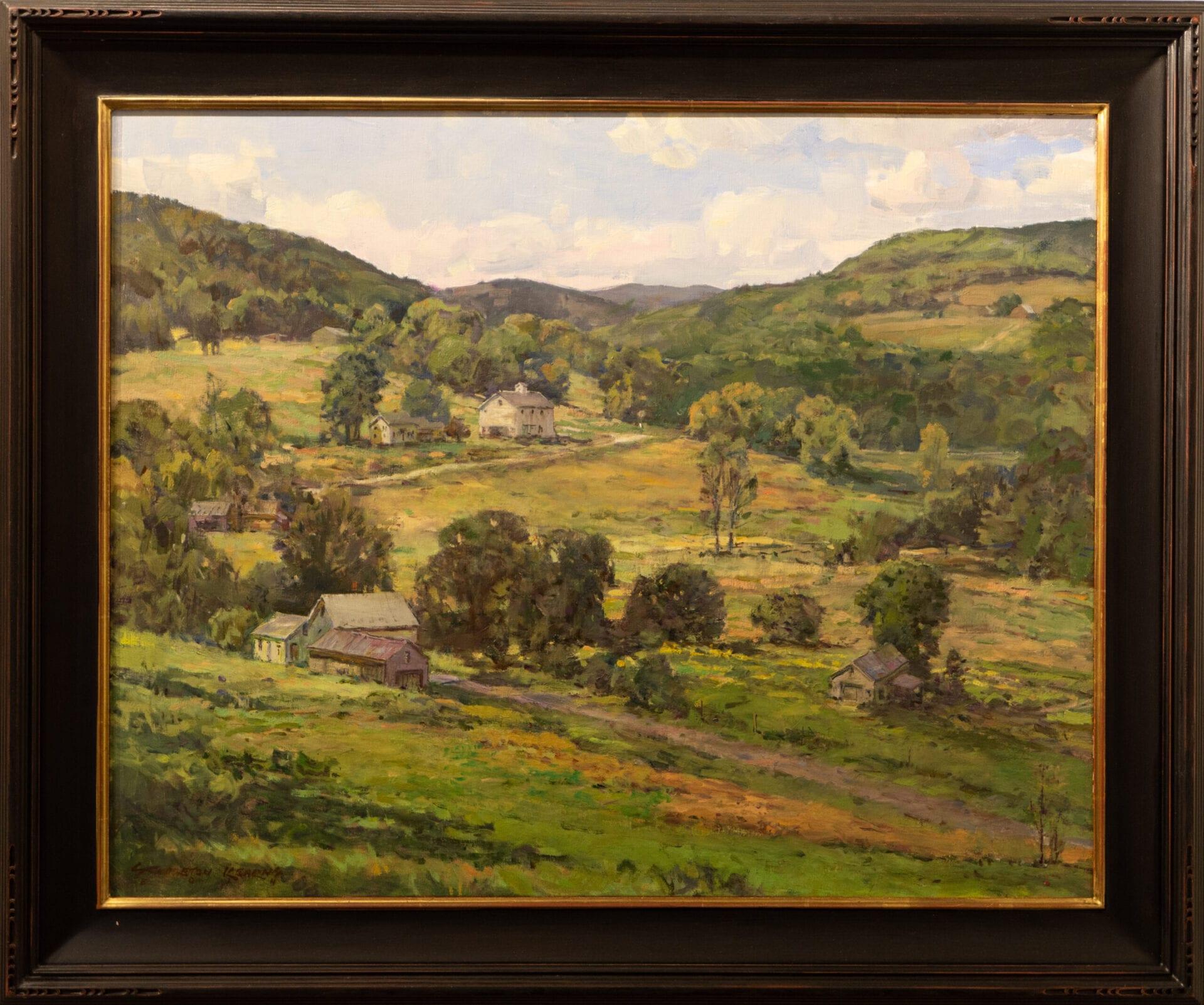 "Farm Country | Stapleton Kearns | 20 x 30"" | Oil"