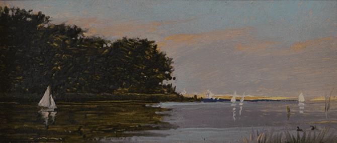 Peter Layne Arguimbau - Afternoon Sail