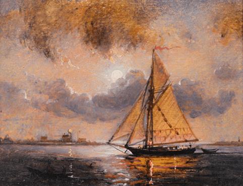 Peter Layne Arguimbau - Evening Light