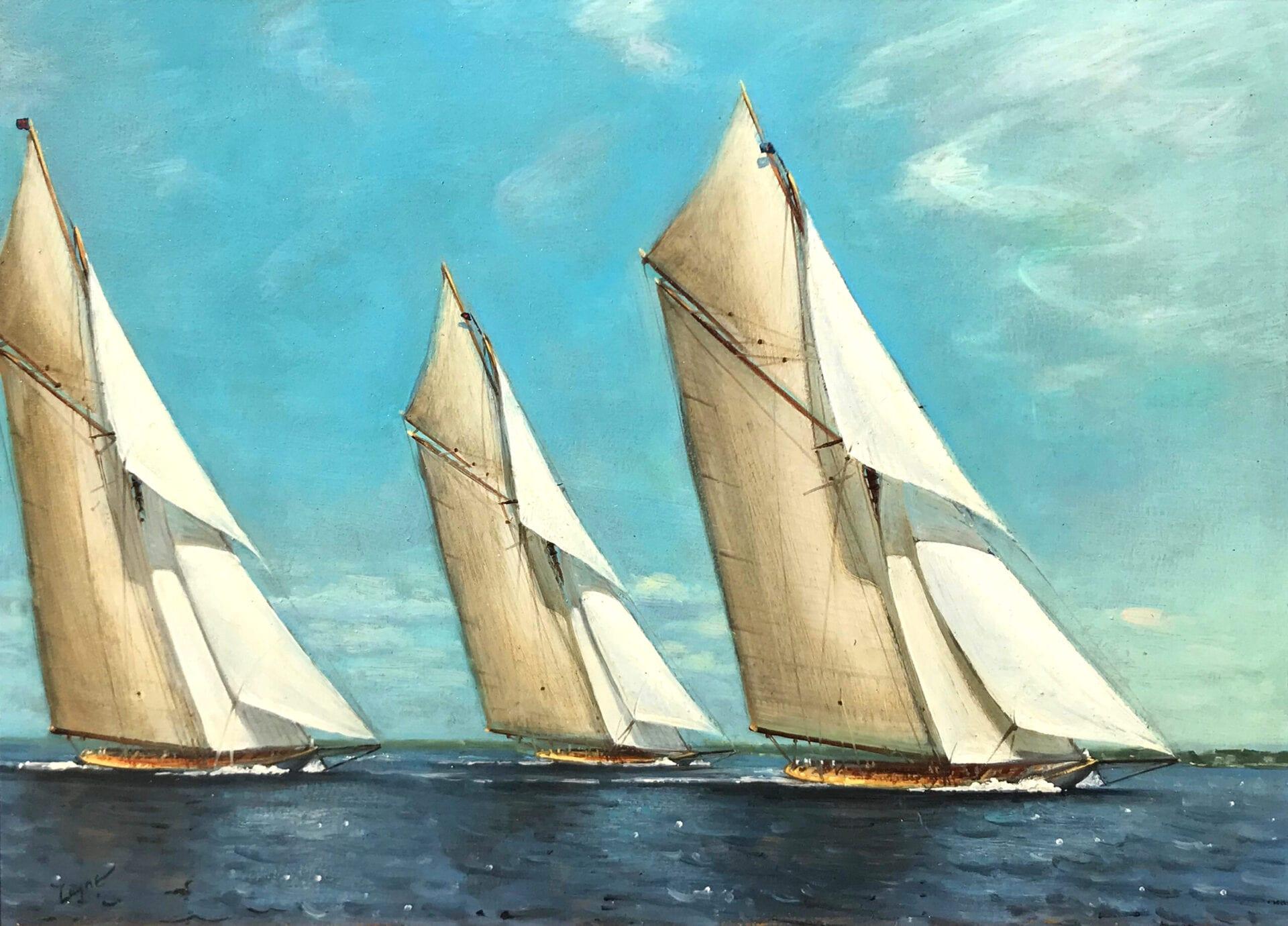 Peter Layne Arguimbau - Full Sails