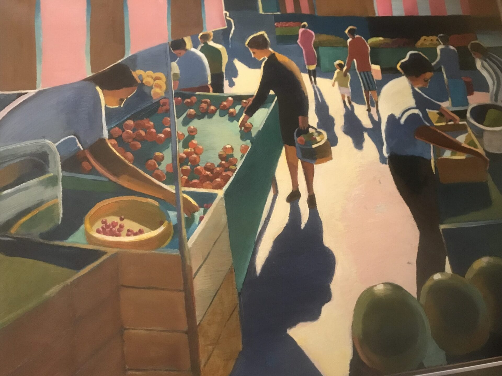 Michael Patterson - French Market with Watermelons