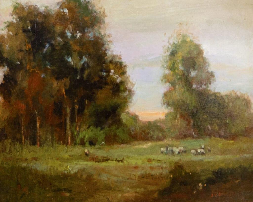 Jacqueline Kamin - Sheep Grazing