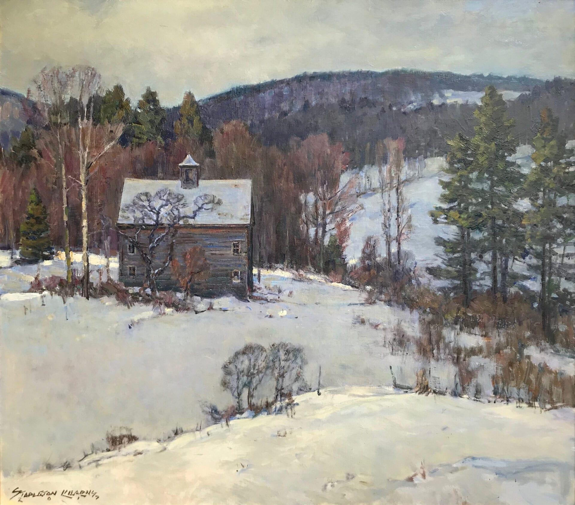 Stapleton Kearns - Hills in Winter