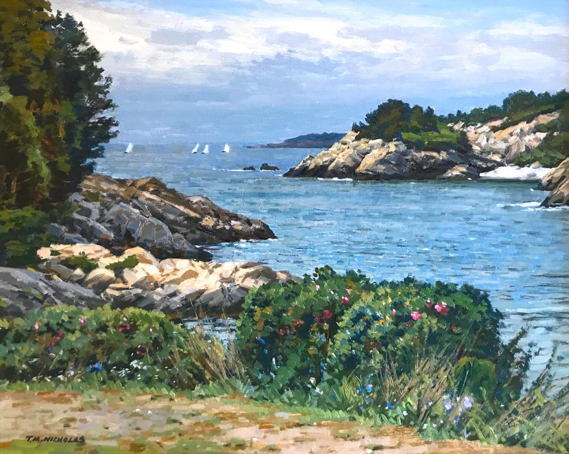 T.M. Nicholas - Coast of Rhode Island