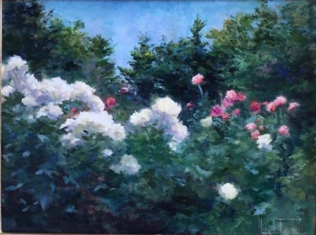 Jean Lightman - Peonies and Poppies
