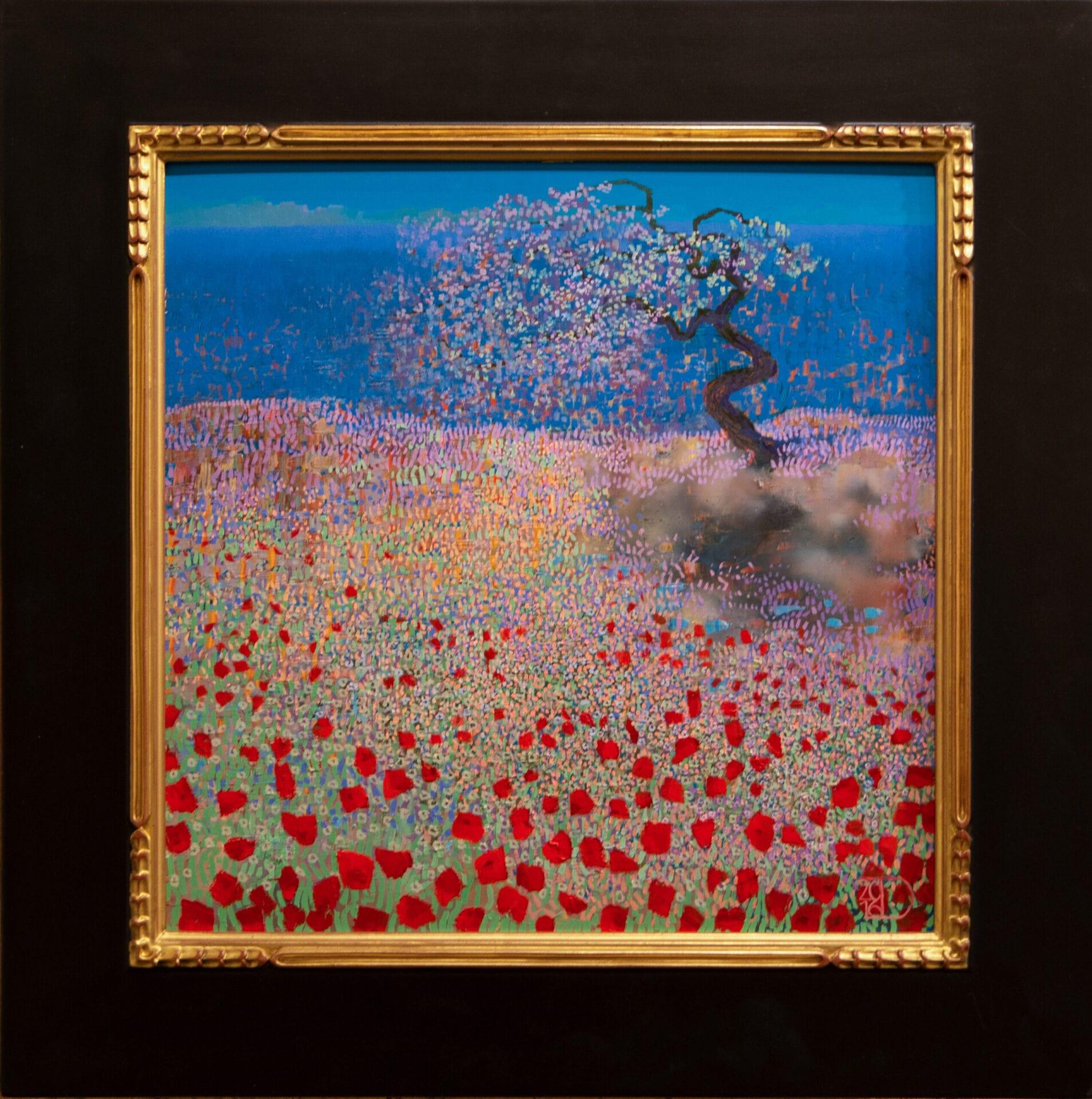 "Ocean Spring | Ton Dubbeldam | 18 x 18"" | Oil"