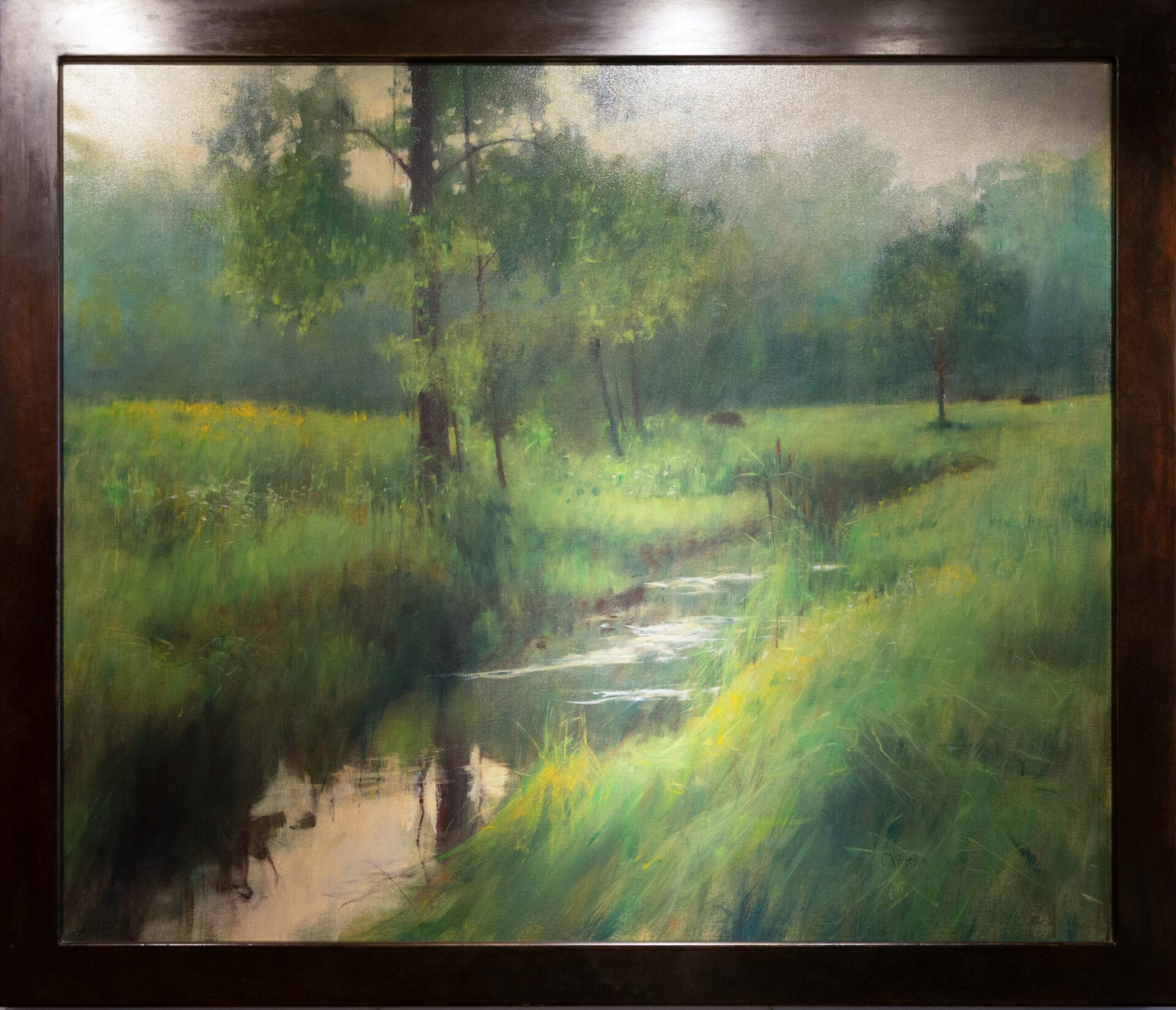 The Stream | Curt Hanson | Oil | 42 x 50""