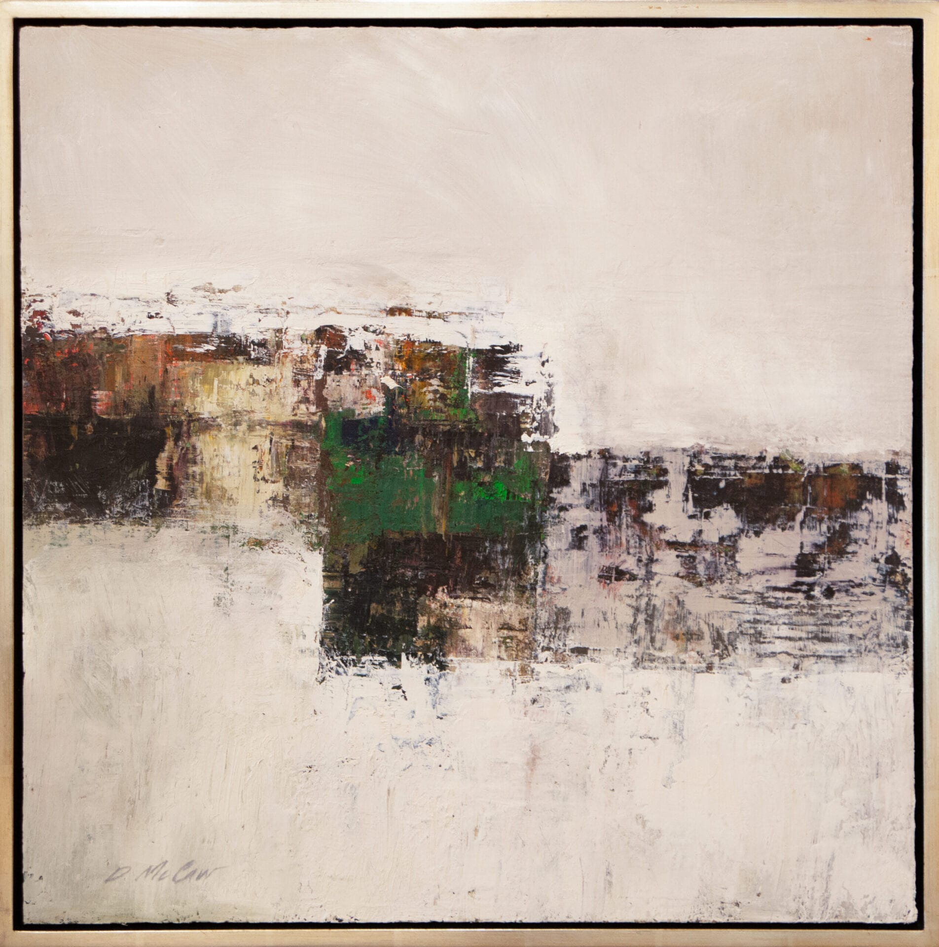 Abstract #4 | Dan McCaw | Oil | 24 x 24""