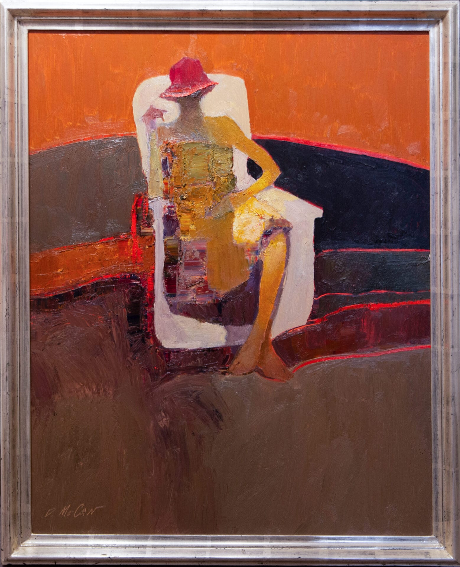 Seated Figure | Dan McCaw | 30 x 24"