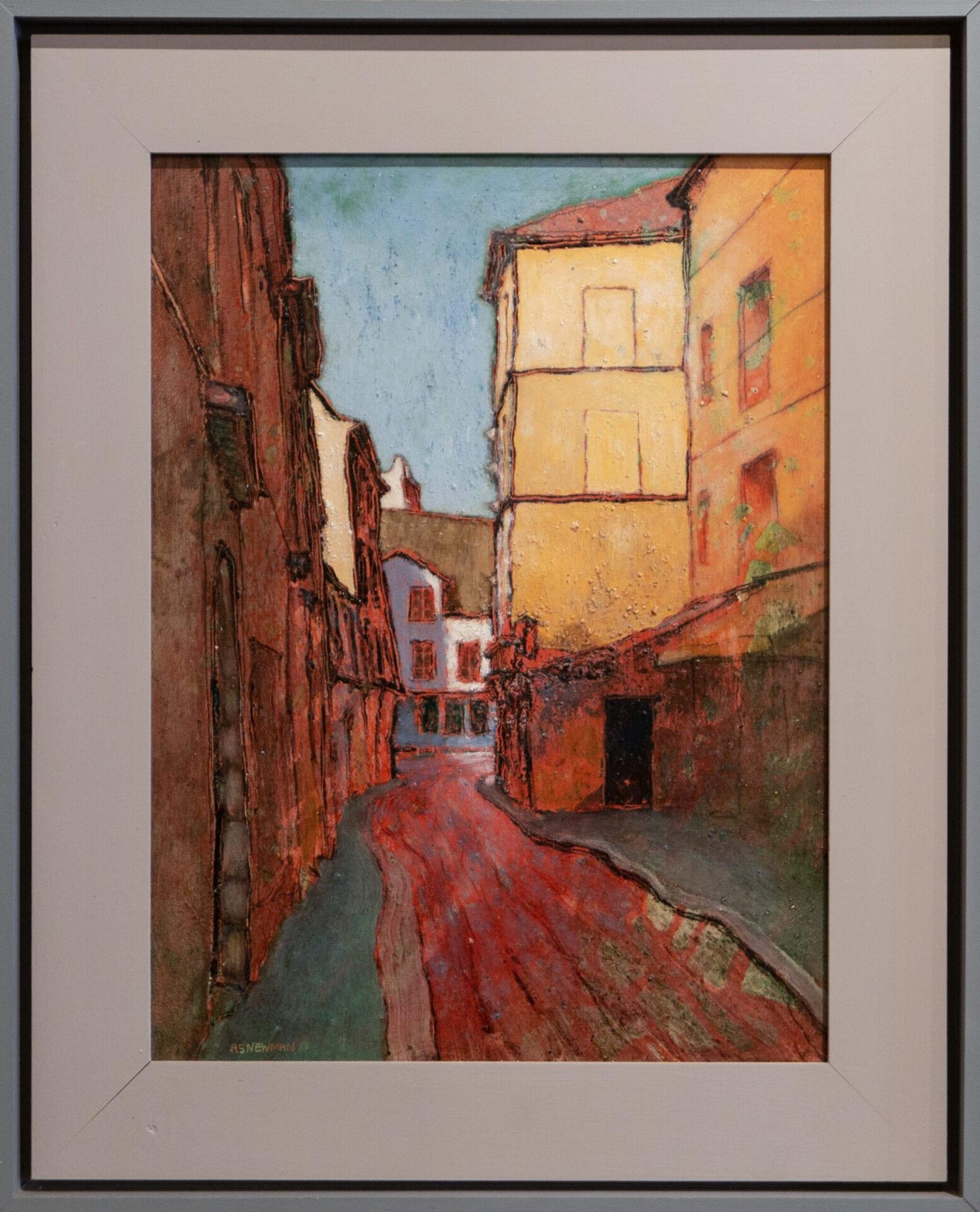"Rue Daubenton | Andy Newman | Oil | 15.5 x 12"""
