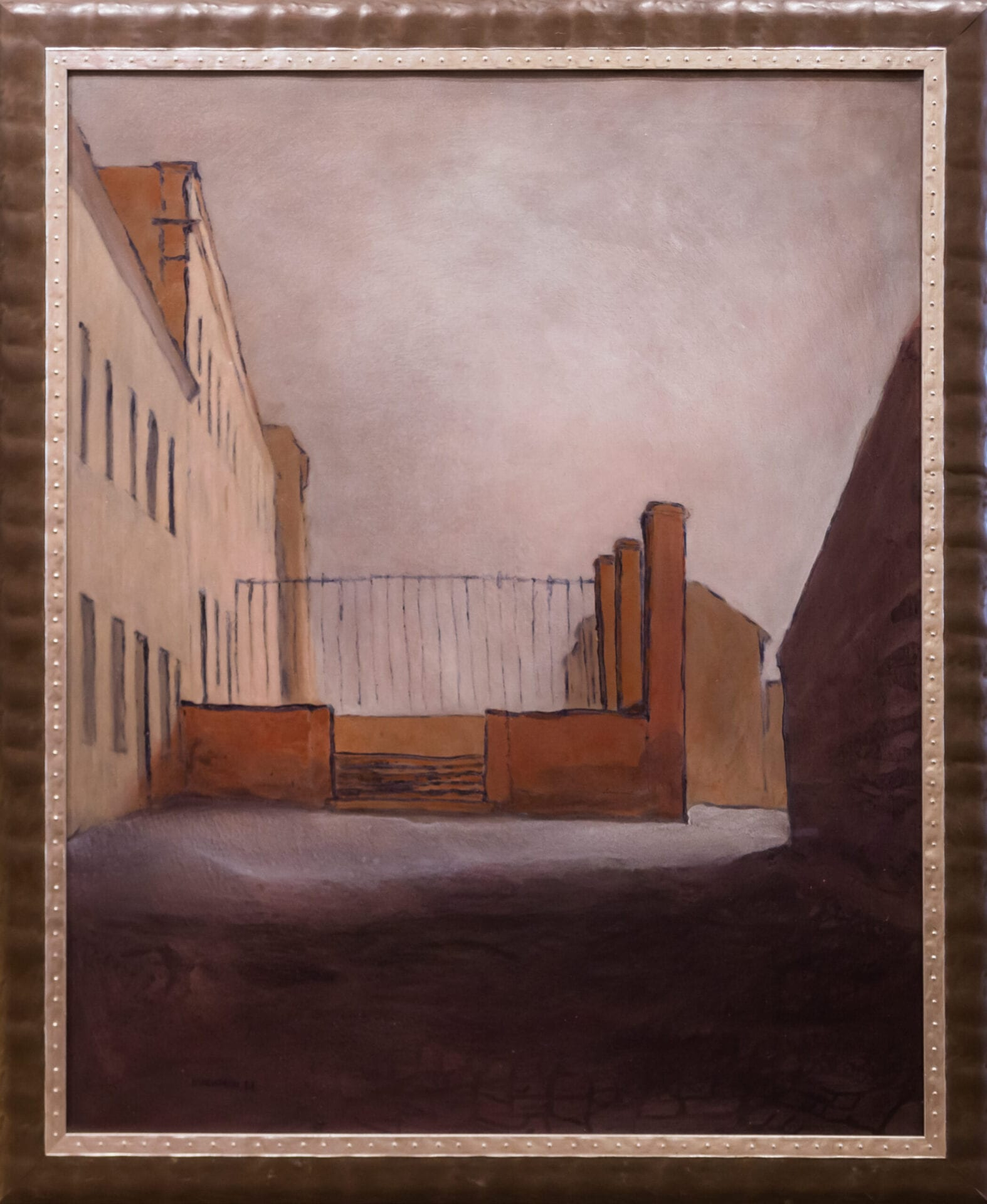 Terrace Above Rue da Junqueria | Andy Newman | Oil | 42.5 x 34""