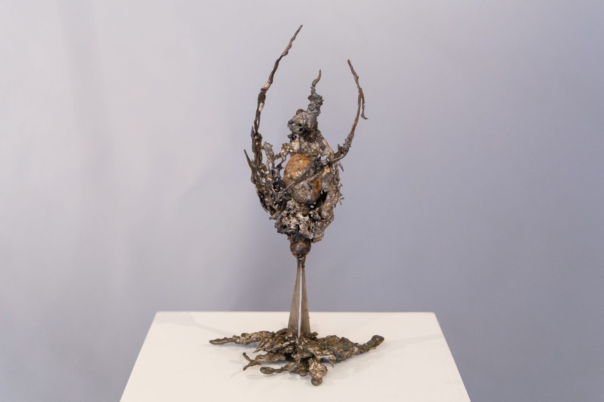 Lifted Up | Bruce Niemi | Bronze | 16 x 8 x 8""