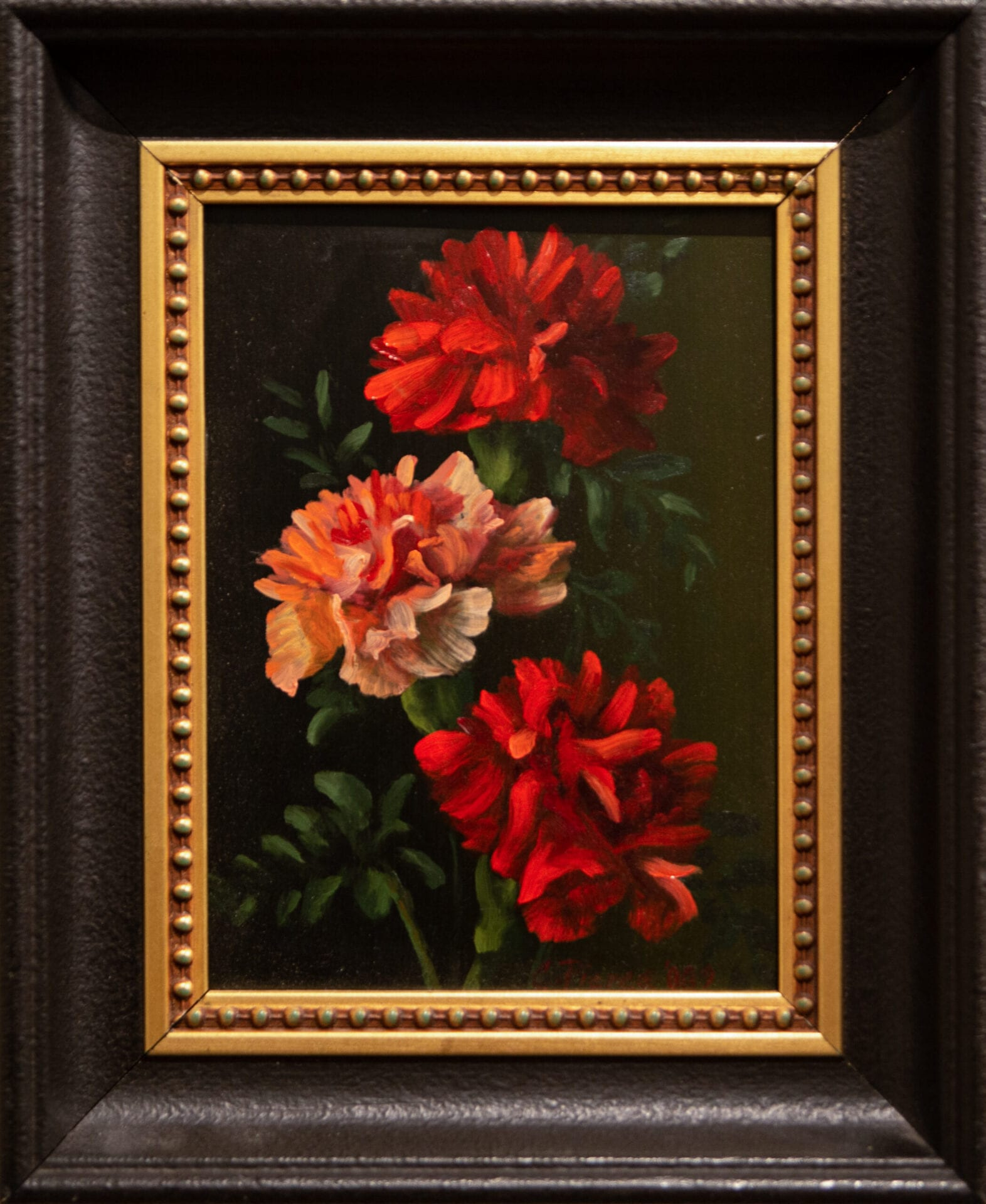 Three Carnations | Christopher Pierce | Oil | 8 x 6""