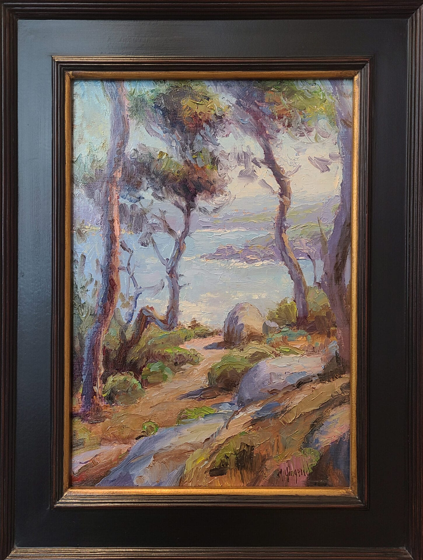 Point Lobos | Mark Gingerich | Oil | 16 x 12""