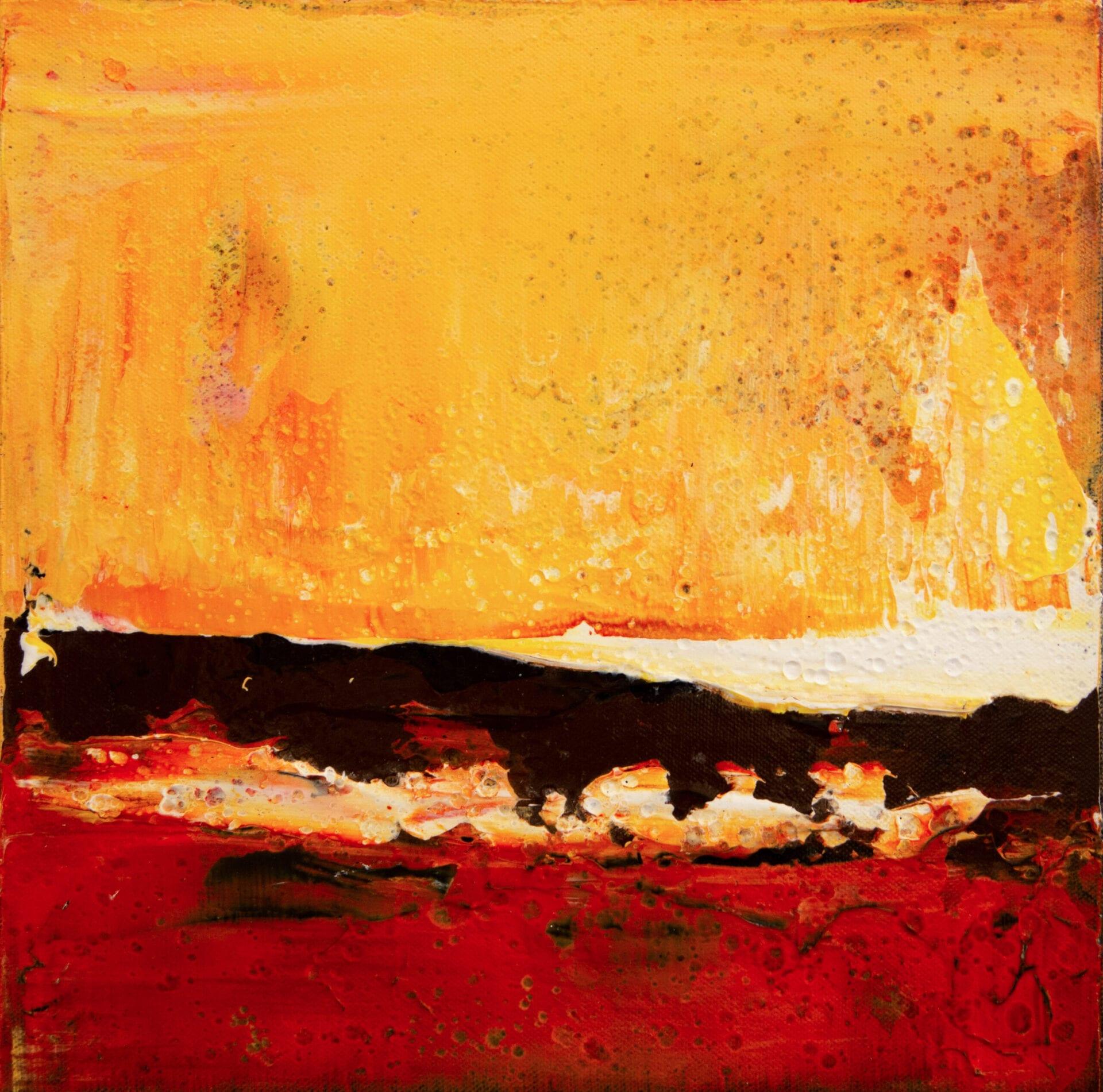 "Unconventional | Brad Robertson | Oil | 12 x 12"""
