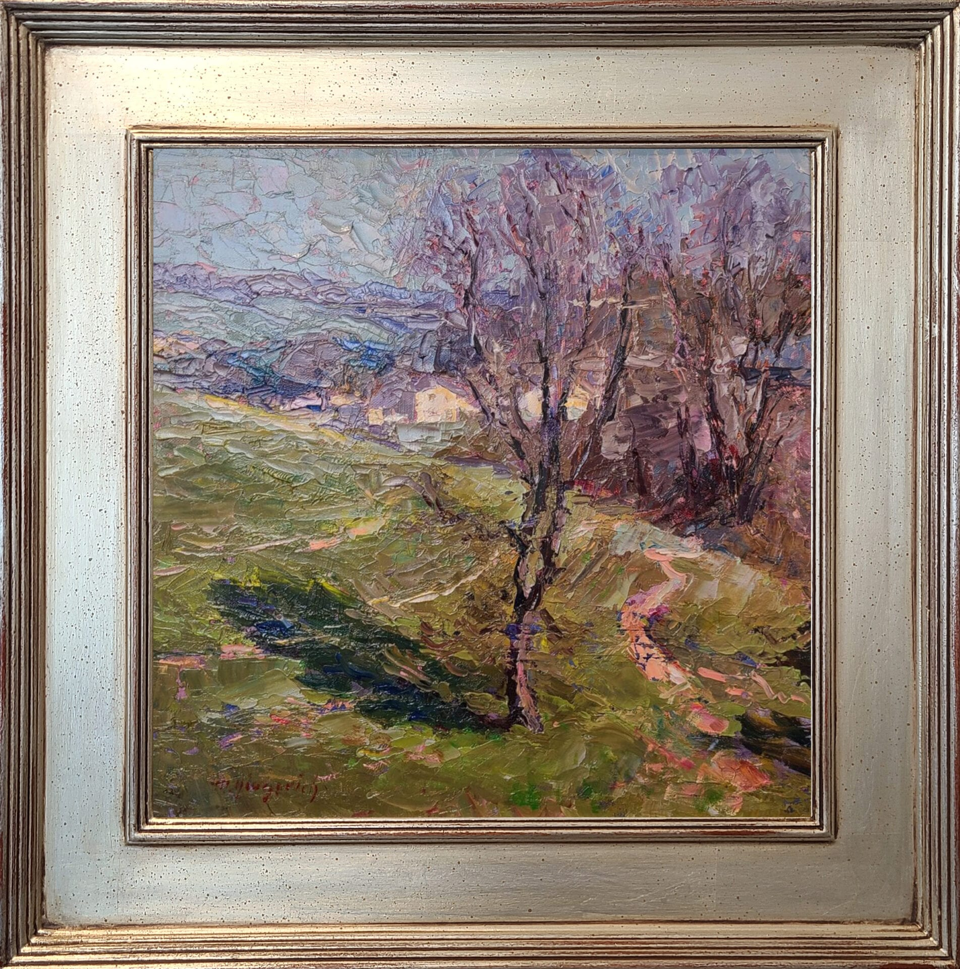 Spring Hills | Mark Gingerich | Oil | 12 x 12""