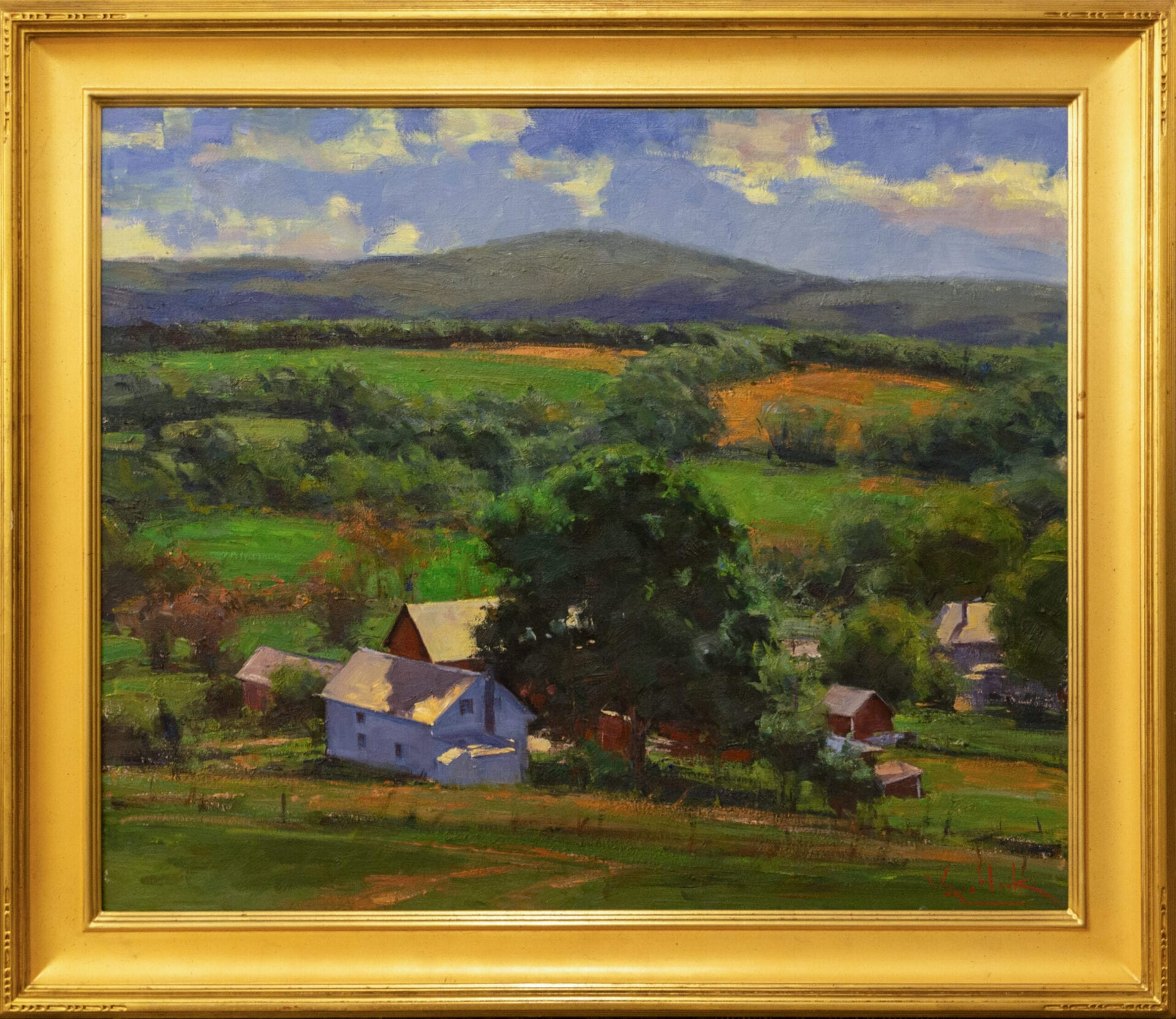 The Farm | George Van Hook | Oil | 30 x 36""