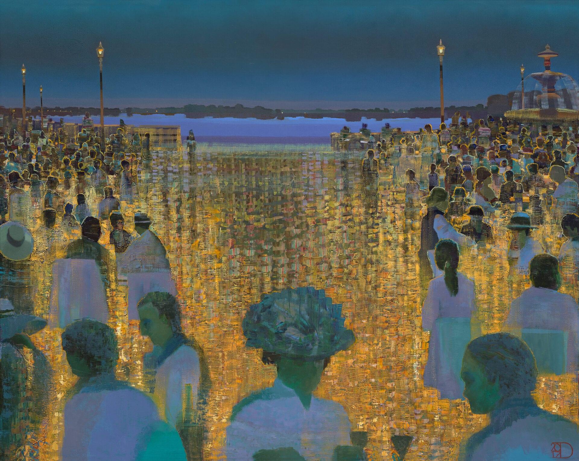 "The Roaring Twenties | Oil on Panel | 32 x 39"""