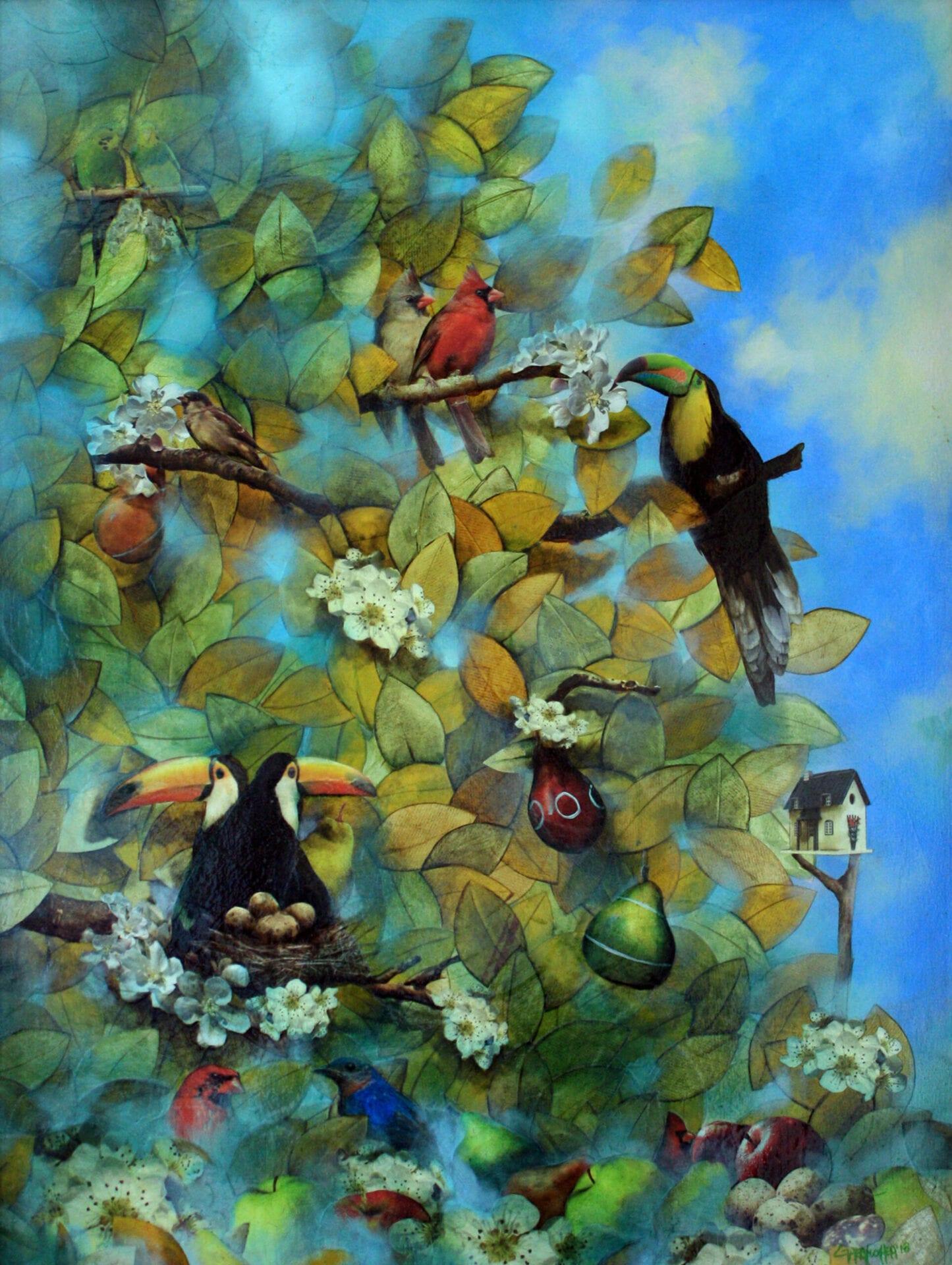 "Summer Dreams | Oil | 36 x 30"""