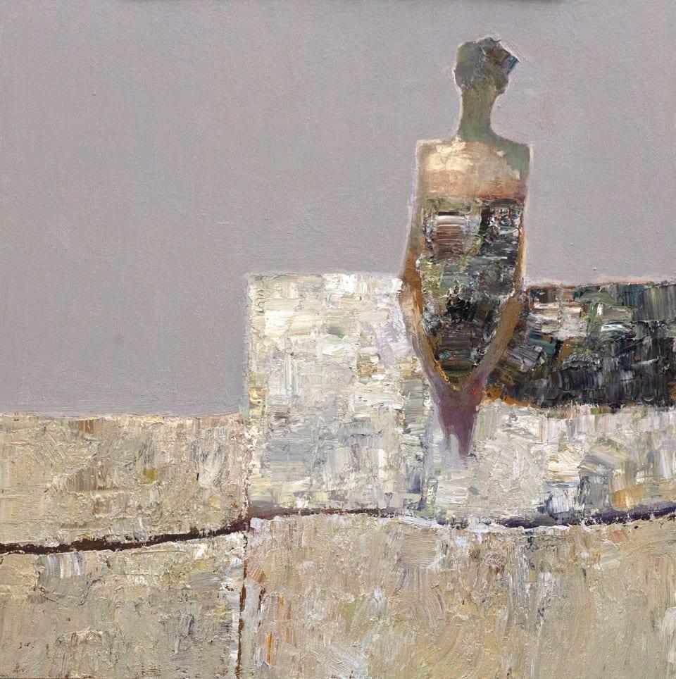 "Textures | Oil | 24 x 24"""