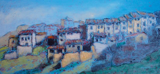 """Houses on a Hill (Torre del Compte) 
