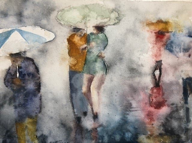 """Walking in the Rain with You 