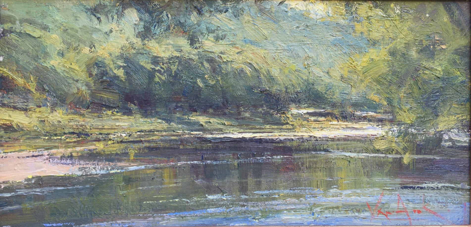 """River Reflections 