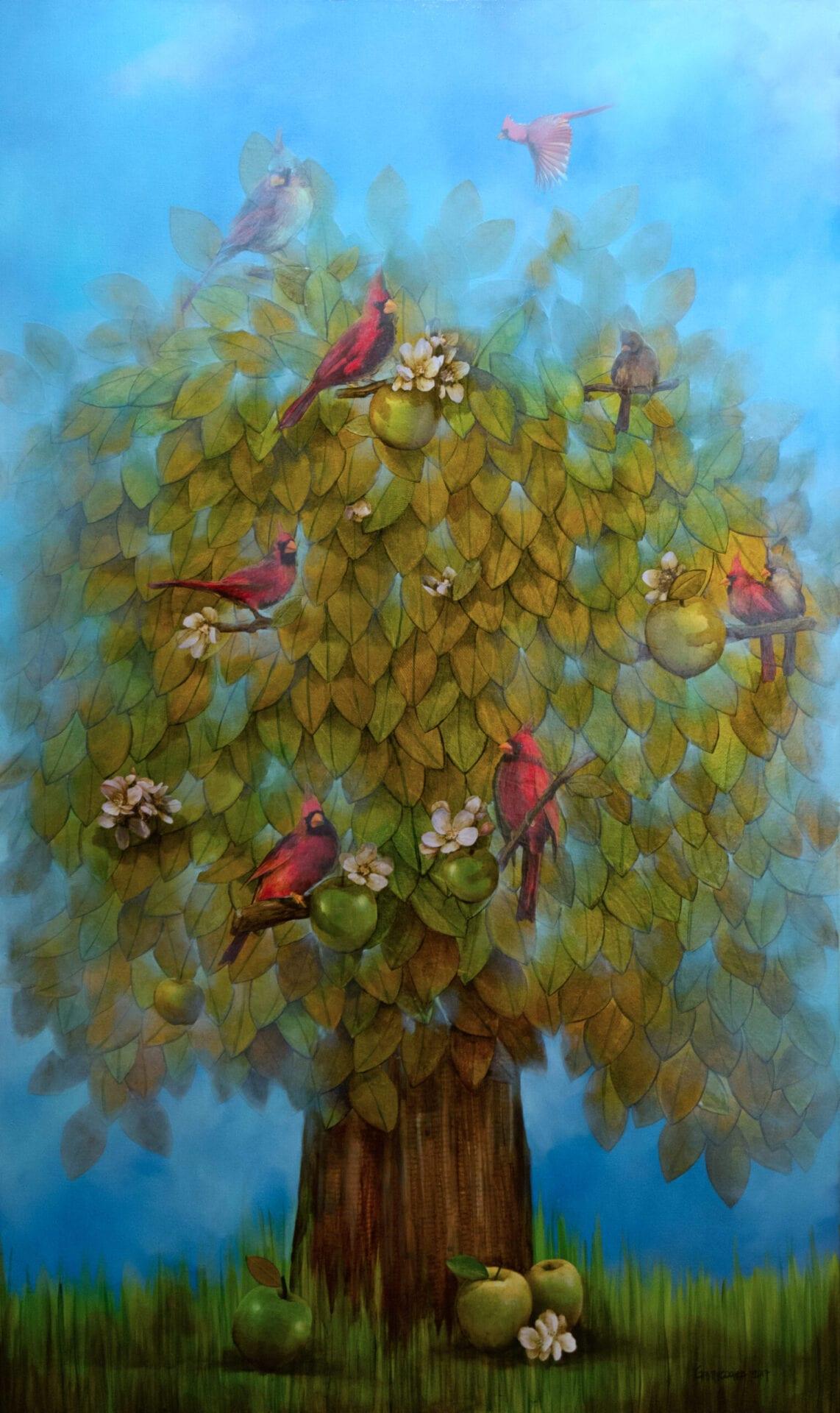 Guido Garaycochea - Tree of Gold