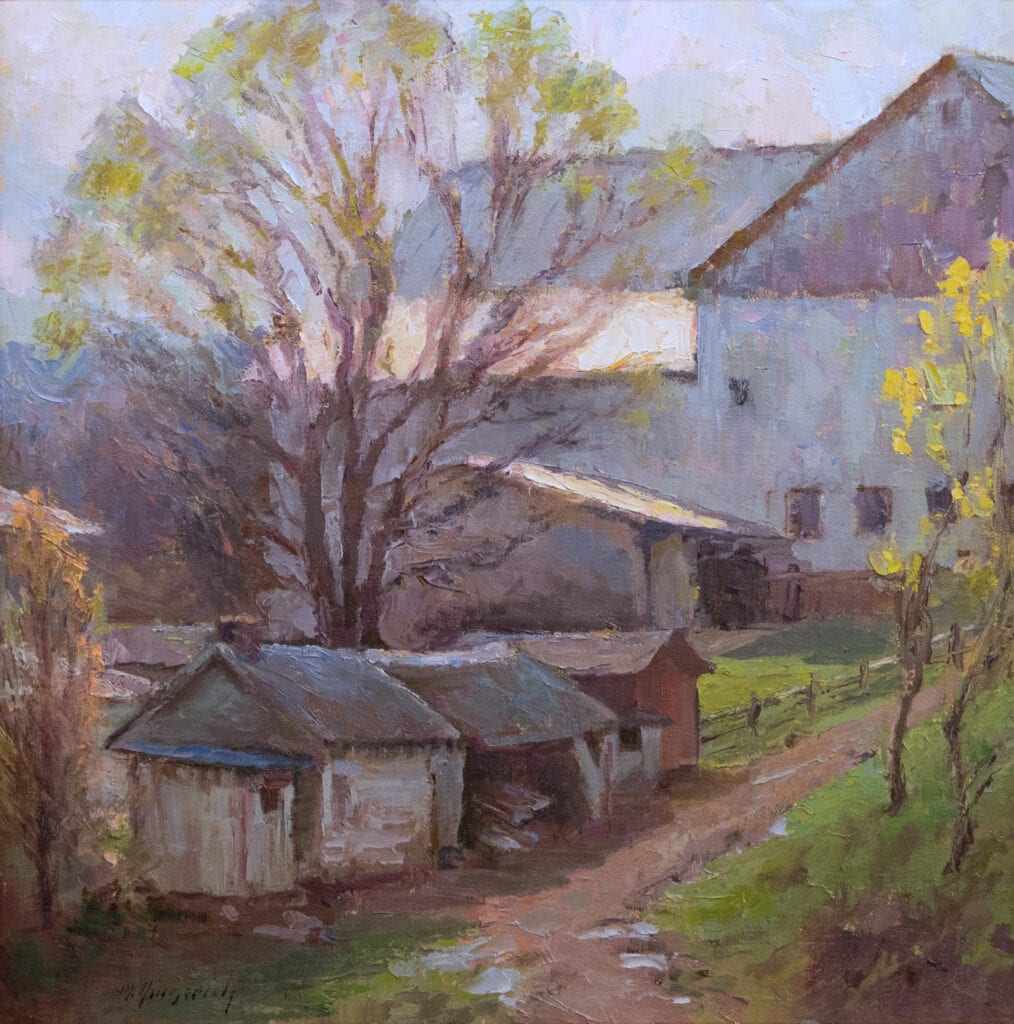 Mark Gingerich - Spring at the Farm