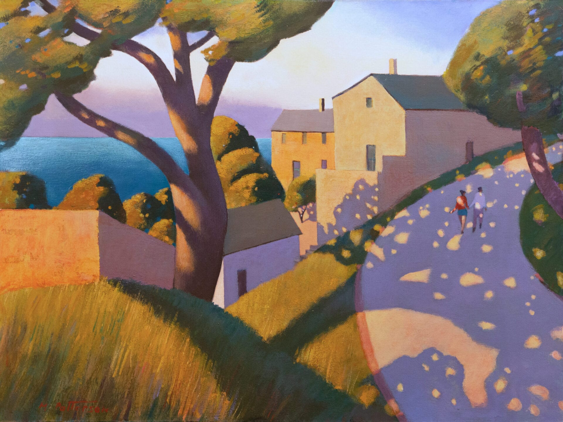"Michael Patterson - Honoring the Fathers, Corsica, ""Along the Road"""