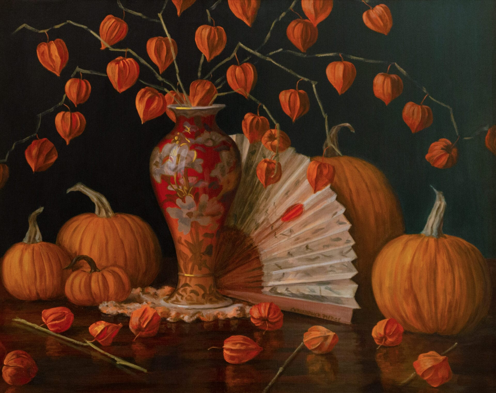 Christopher Pierce - Chinese Lanterns with Fan