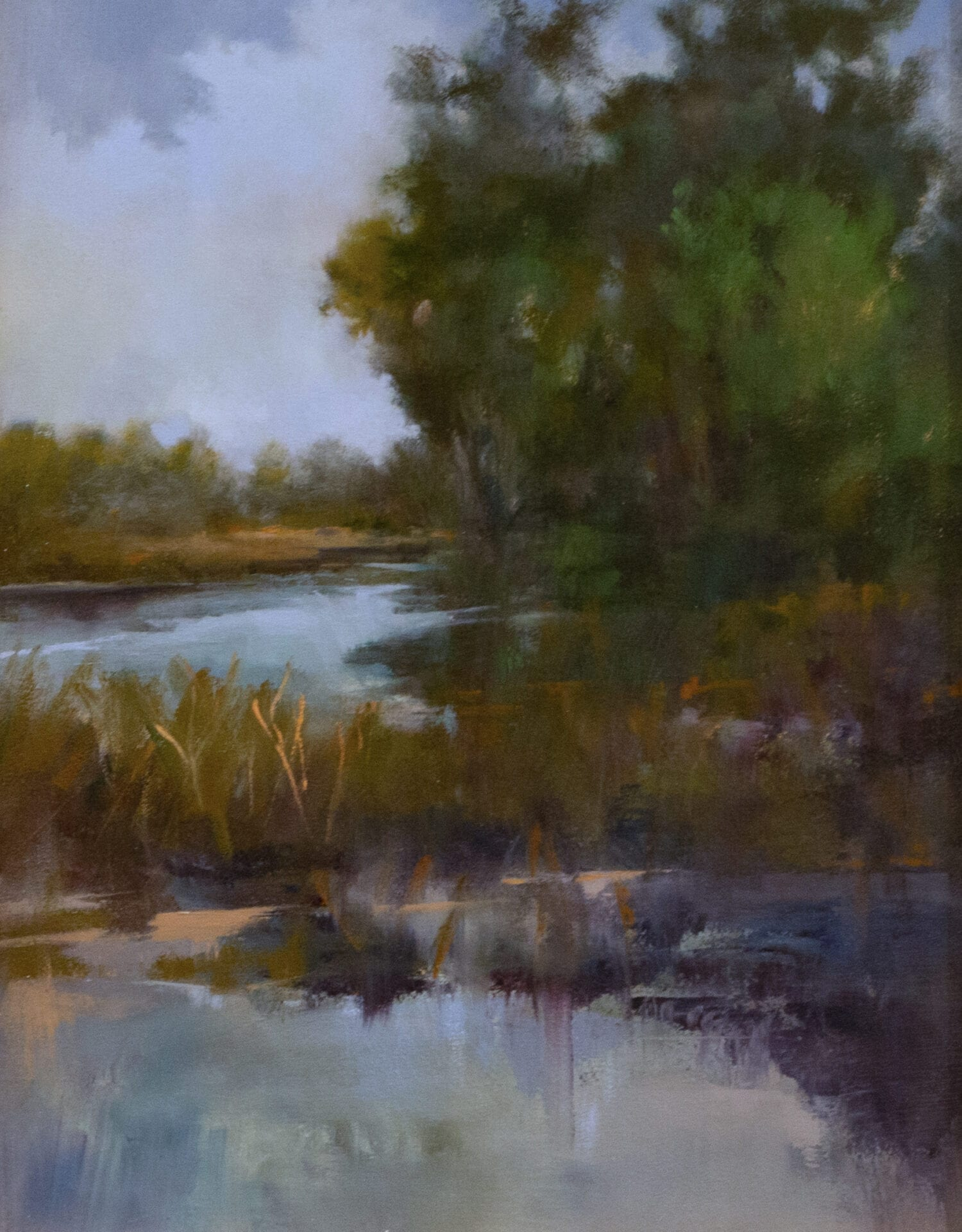 Diane Washa - spring-march frog - clatter peace breaks out