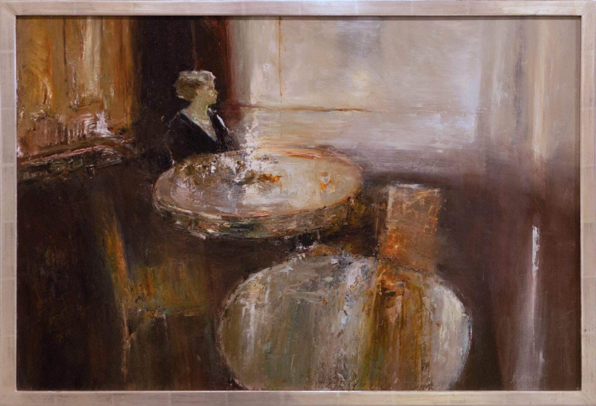 "Anticipation   Dan McCaw   Oil on Canvas   24 x 36"""
