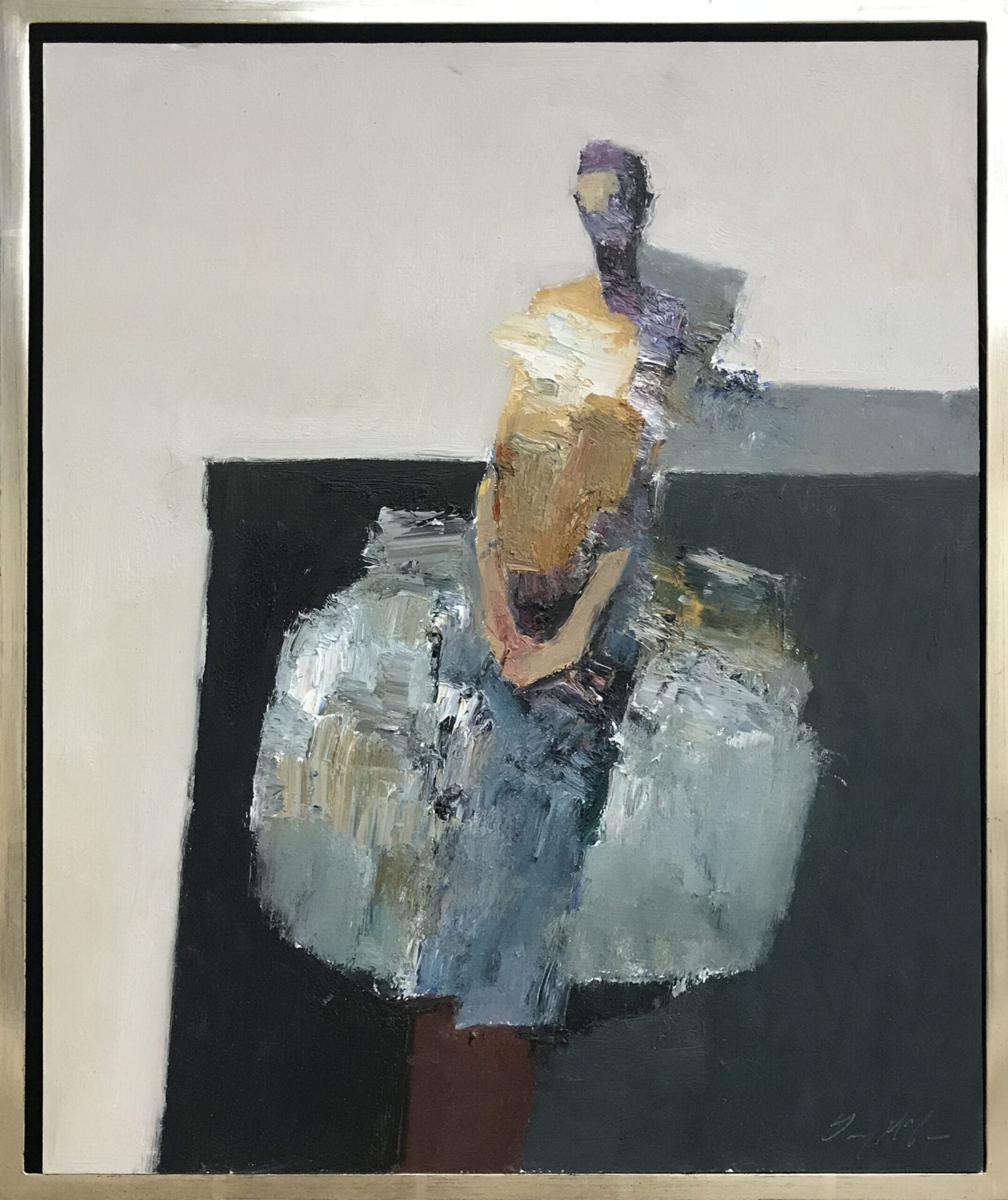 The Dancer | Danny McCaw | Oil on Panel | 20 x 16""
