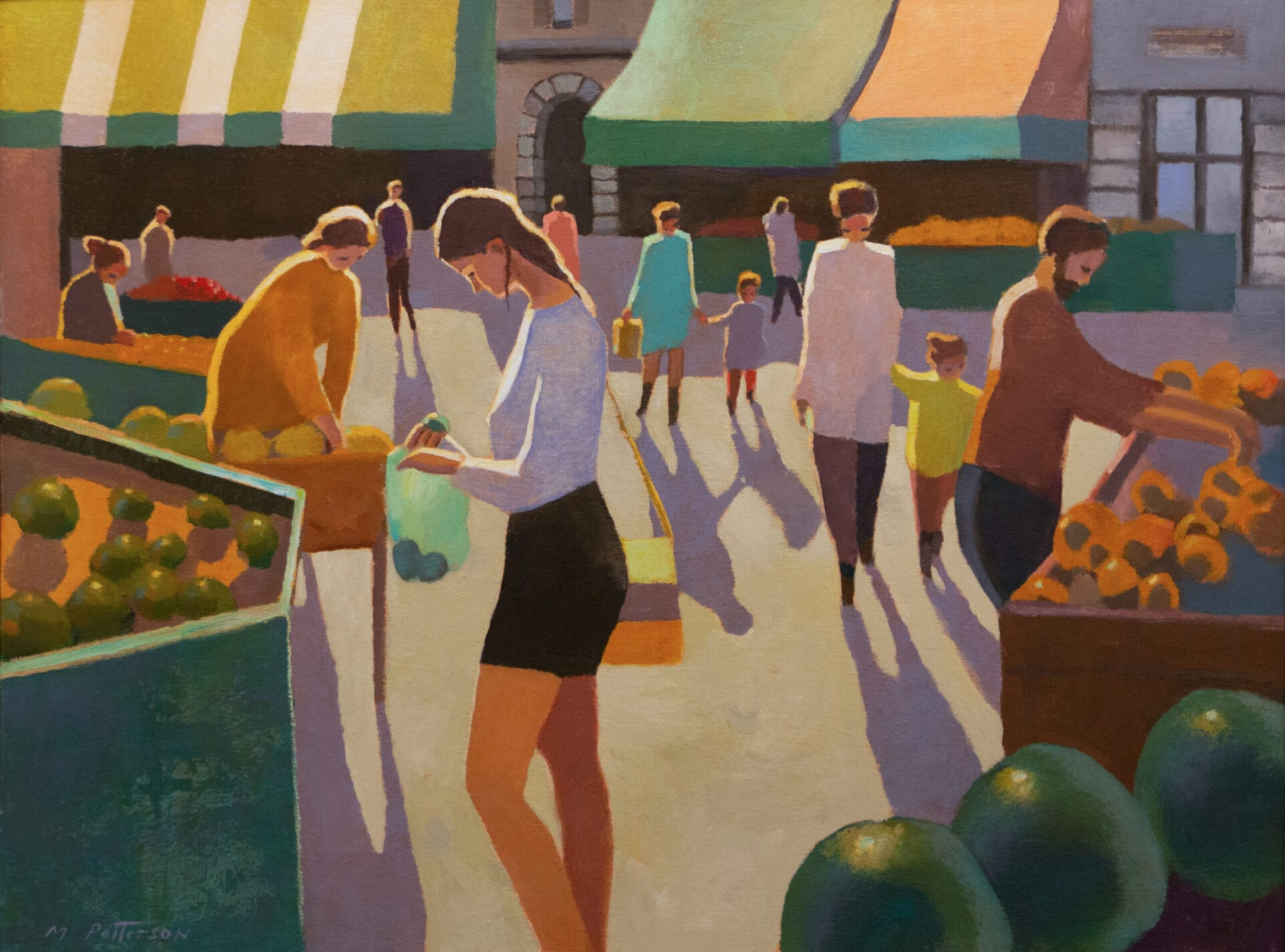 Michael Patterson - Market in the Sun