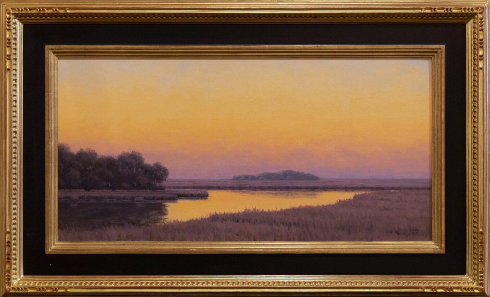 Quiet Color | Ronald Tinney | Oil on Canvas | 15 x 30""
