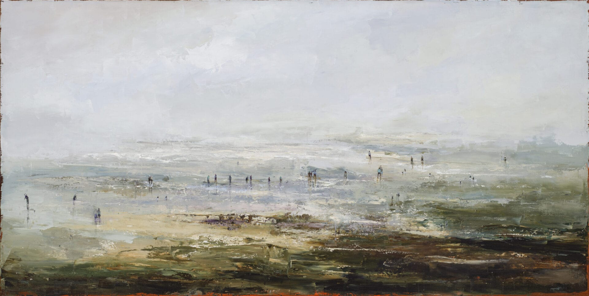 Between the soft moor and the soft sky (SOLD)