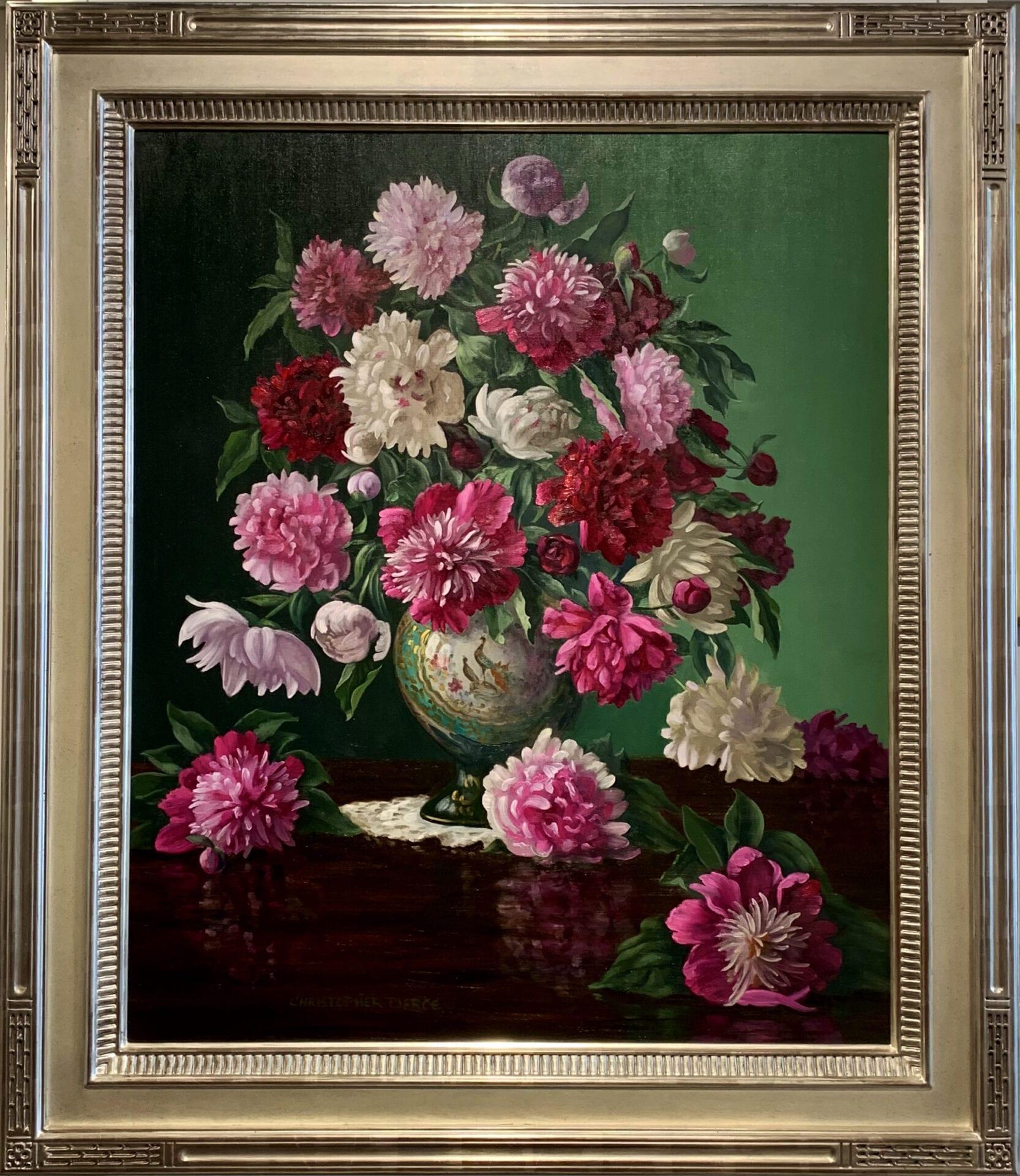 Pierce_Junes_Bounty_in_Japanese_Vase_36x30_Frame