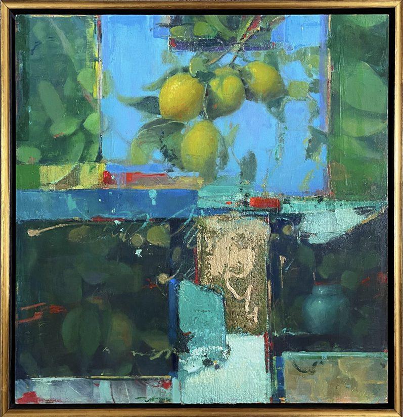 Groves_Lemons_in_the_Abstract_24x24_Frame