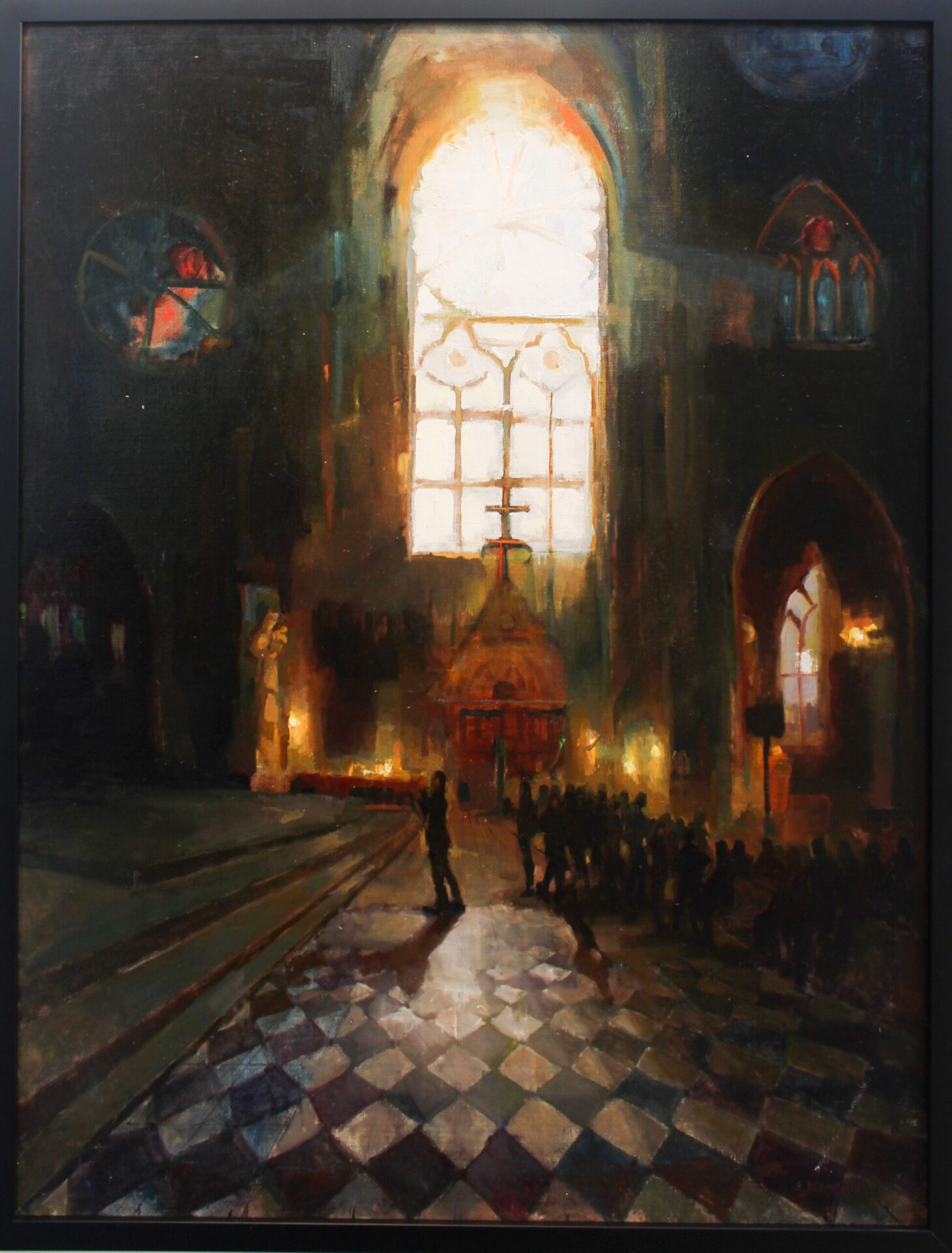 Kamin_Cathedral_40x30_Frame