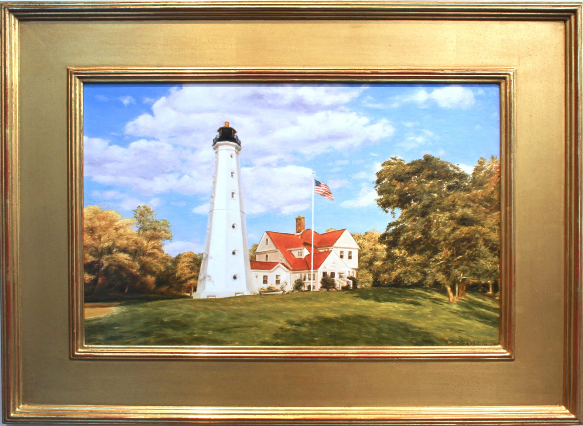 Zummo_North_Point_Lighthouse_18x12_Frame