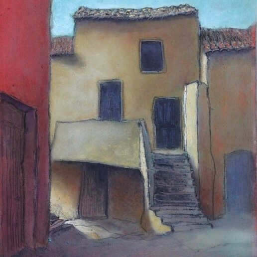 Andy Newman - House with Stairs (St. Pons)