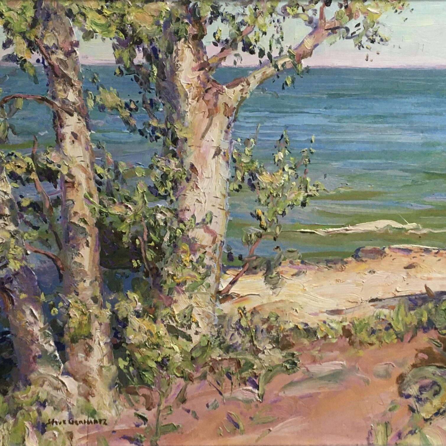 Birches at the Beach (MKE)
